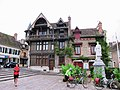 Half Timbered Guild Hall on the square in Moret-sur-Loing - panoramio.jpg