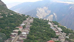 Halidzor view frae Wings o Tatev