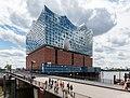 Hamburg, HafenCity, Elbphilharmonie (und Mahatma-Gandhi-Brücke) -- 2016 -- 3054.jpg