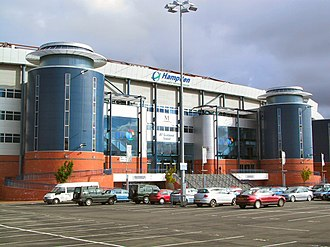 Hampden Park - Exterior of Hampden's South Stand, which was opened in 1999