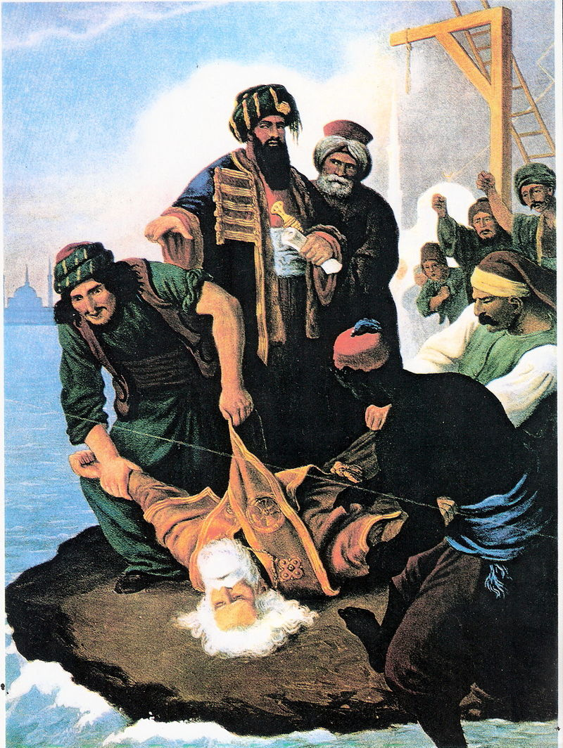 April 10: Ottomans hang Gregory V, Patriarch of Constantinople 3