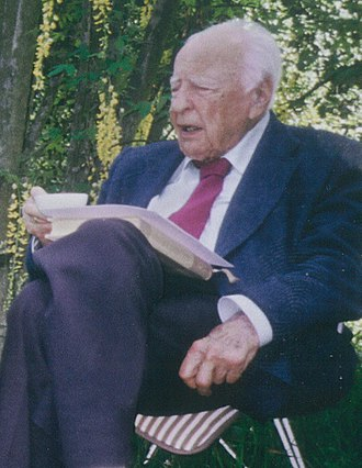 Hans-Georg Gadamer - Wassili Lepanto and Hans-Georg Gadamer, c. 2000