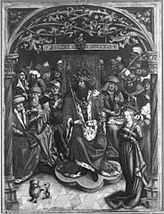 Kaiser Heinrich verurteilt die Kaiserin zum Gottesgericht (Werkstatt)