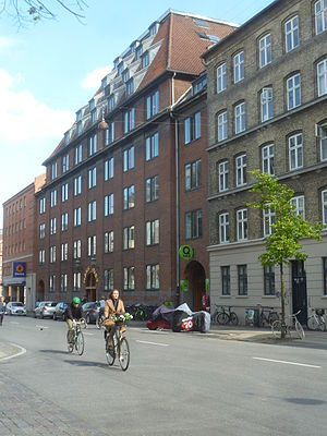 Århusgade - The Hans Just Ware House at No. 88