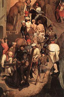 La deposizione dalla croce. Rosso Fiorentino e altri artisti. 220px-Hans_Memling_Passione_6