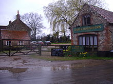 Hare and Hounds Inn, Hempstead, Norfolk, 28th March 2009.JPG