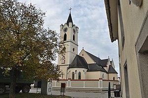 Hargelsberg - Image: Hargelsberg Pfarrkirche hl Andreas