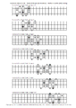 Harmonic Minor Scale (Mode i) - Vertical Shapes (in Position) - Perfect Fourths (P4) Tuning.png