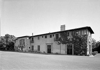 Harold Lloyd Estate - Greenacres, Harold Lloyd Estate in 1974