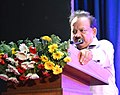 Harsh Vardhan addressing at the inauguration of the renovated Zoological and Botanical galleries, at Indian Museum, in Kolkata.JPG