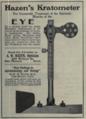 """Hazen's Kratometer (""""American medical directory"""", 1906 advert).png"""