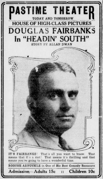 Headin' South - Newspaper advertisement.