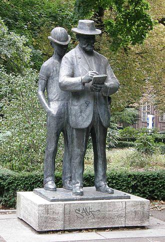 Heinrich Zille - Image: Heinrich Drake Heinrich Zille Denkmal