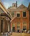 Hendriks ,Courtyard of Teylers Foundation House, c. 1800.jpg