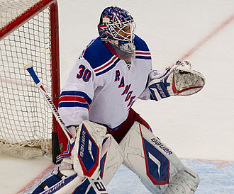 Henrik Lundqvist - Lundqvist during the 2011–12 season.