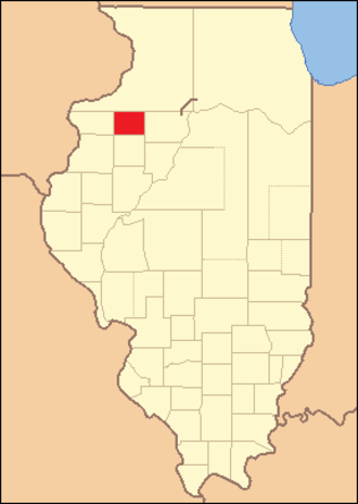 Henry County, Illinois - Image: Henry County Illinois 1827