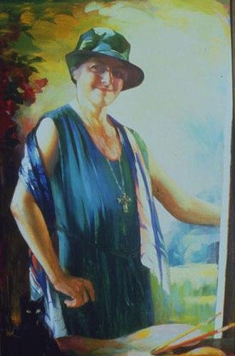 Ella Sophonisba Hergesheimer - Self-portrait (1931)