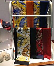 Hermes scarves at Zurich airport.JPG