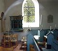 Herstedoester Kirke Albertslund Denmark pulpit.jpg
