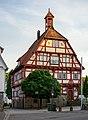 Hessigheim - Rathaus - Fassade mit Abendsonne.jpg