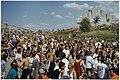 Het eerste openlucht housefestival Dance Valley, in in recreatiegebied Spaarnwoude trok ca. 8000 bezoekers en verliep gemoedelijk. NL-HlmNHA 54036058.JPG