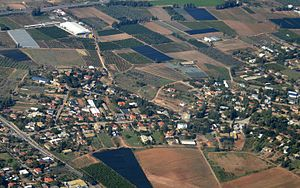 Hibat Tzion - Image: Hibat Tzion Aerial View
