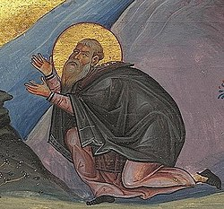 Hilarion the Great (Menologion of Basil II) (cropped).jpg