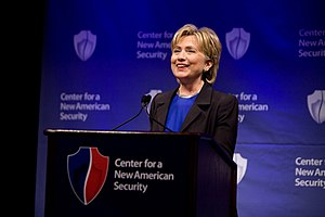 Center for a New American Security - Hillary Clinton speaks at CNAS's rollout event, June 2007