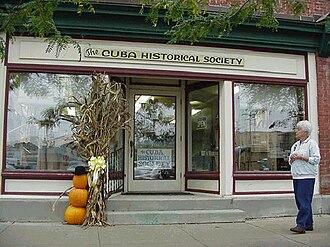 Cuba (village), New York - The Cuba Historical Society in Cuba