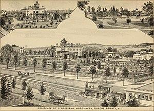 Woodhaven, Queens - Grosjean farm in 1882