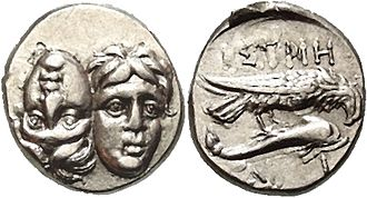 Bastarnae - Coin issued by the Greek coastal city of Histria (Sinoe)