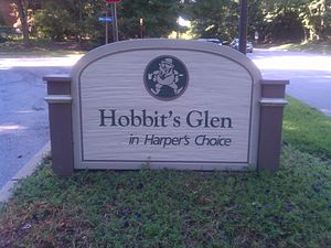 Harper's Choice, Columbia, Maryland - Hobbit's Glen, a community within Harper's Choice.