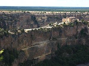 Hoces del Río Duratón Ermita de San Frutos 3.JPG