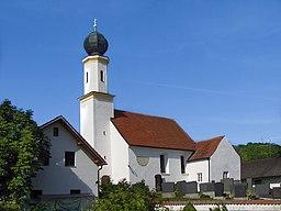 Hohenthann Petersglaim Kirche Sankt Petrus