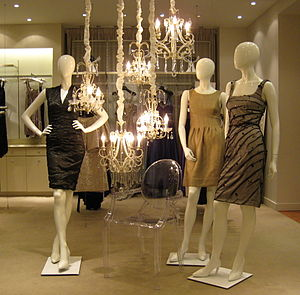 Mannequins at the Holt Renfrew store in Montre...