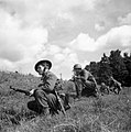 Home Guard soldiers advance warily during an exercise near Exeter, 10 August 1941 H12628.jpg