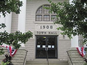 Homer, New York - Town Hall, Homer, NY