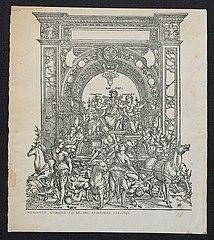 Hommage van de stad Antwerpen aan Jacobus Castricus (Van de Casteele)