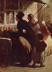 Honoré Daumier, Le marché de l'art