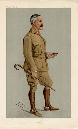 Horace Smith-Dorrien - Smith-Dorrien caricatured by Spy for Vanity Fair, 1901