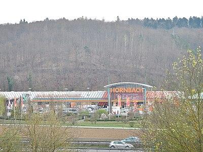 Hornbach in Tübingen am Schwarzwald-Schwäbische-Alb-Allgäu-Weg (HW5) - panoramio.jpg