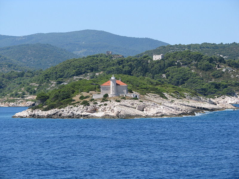 Host Island near Vis