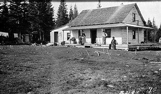 La Loche - HBC residence in West La Loche (1908)