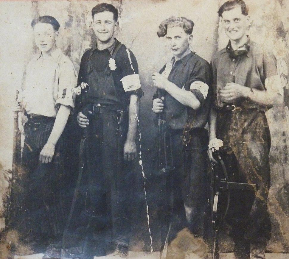 Huelgoat. Résistants 2ème guerre mondiale