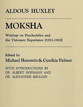 Aldous Huxley - Image: Huxley Moksha, 1977 2886737 C