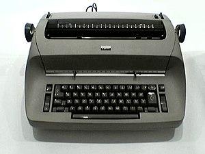 Eliot Noyes - IBM Selectric typewriter