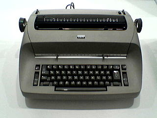IBM Selectric typewriter Line of electric typewriters