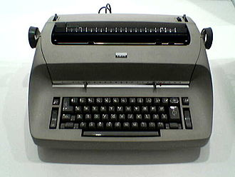 IBM Selectric typewriter - IBM Selectric