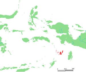 Kai Islands - Image: ID Kai islands
