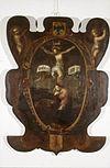 interieur, bord (beschilderd) - haarlem - 20262657 - rce